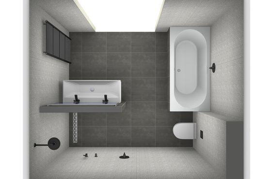Badkamer ontwerpen toiletten douches en medium for Ontwerp badkamer 3d