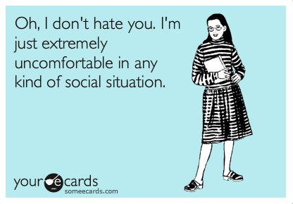 If only I could have a sign floating above my head at all times that says this. #introvert #INTJ #HSP