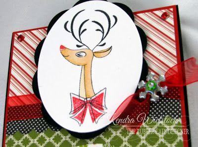 The Rubber Cafe Design Team Blog: Reindeer Games!