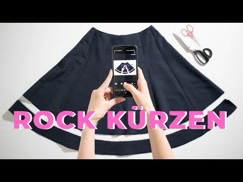 Rock Kurzen Leicht Und Schnell Gemacht Youtube Abendgarderobe Damen Kleider Kleider Kaufen