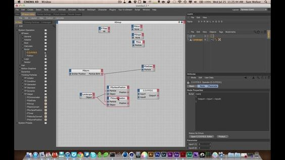 Tutorial 25 - Custom Xpresso Node by Sam Welker. In this tutorial we are going to talk about making custom Xpresso nodes using Xgroups. We do a little bit of theory and a little bit of technical work. Sorry Ive been off the grid for so long. Hope you guys like this!