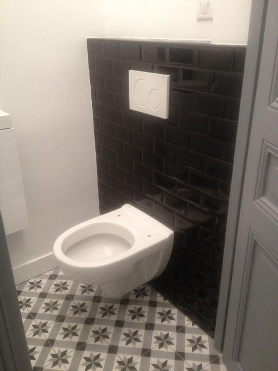 Pinterest the world s catalog of ideas - Toilette carreau de ciment ...
