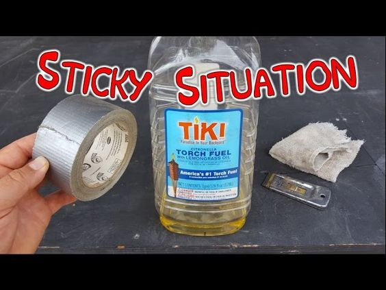 Super Easy Way To Remove Sticky Tape Residue