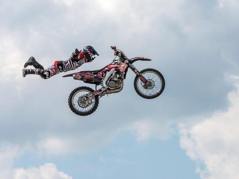 Freestyle Moto Cross Stunt Motorcycling 2013 Photographic Print Art Com In 2020 Stunts Motorcycle Photographic Print