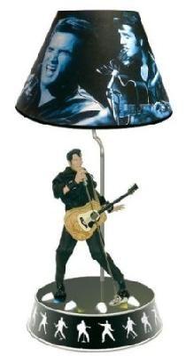 Elvis Presley Animated Lamp