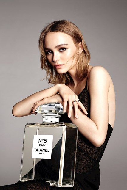 Lily-Rose Depp Chanel No.5 L'eau Campaign (Vogue.co.uk)