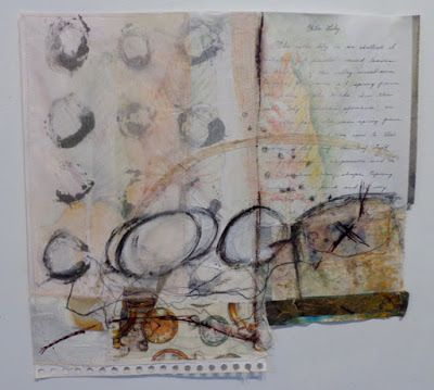 A Mixed Media Journal:  Clare Murray Adams: The Scary Part...Going Too Far