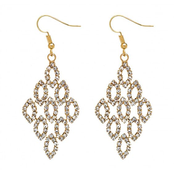 Grad Diamante Drop Earring: