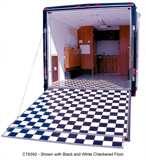 Cargo trailer conversions how convert your cargo for 6x12 wood floor trailer