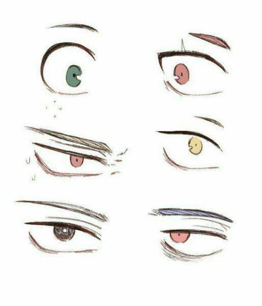 Top To Bottom Left Right Izuku Kirishima Bakugo Kaminari Todoroki Anime Eye Drawing Anime Eyes Eye Drawing