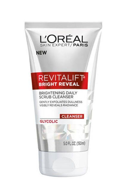 If you regularly read our website (thanks!), you might be getting a little tired of hearing about the importance of daily exfoliation with a gentle glycolic cleanser. We'll let this product put the conversation to rest. L'Oréal Revitalift Bright Reveal Brightening Daily Scrub Cleanser with Glycolic, $19.99, available in July at CVS.  #refinery29 http://www.refinery29.com/2016/06/114987/new-cvs-makeup-products#slide-9: