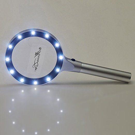 5x10x Magnifying Glass Magnifier DIY