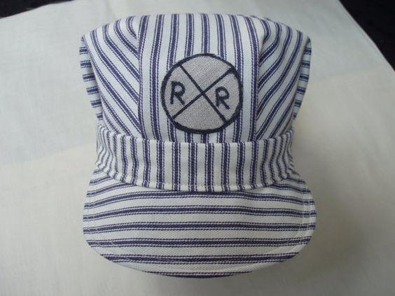 Childrens Railroad Hat