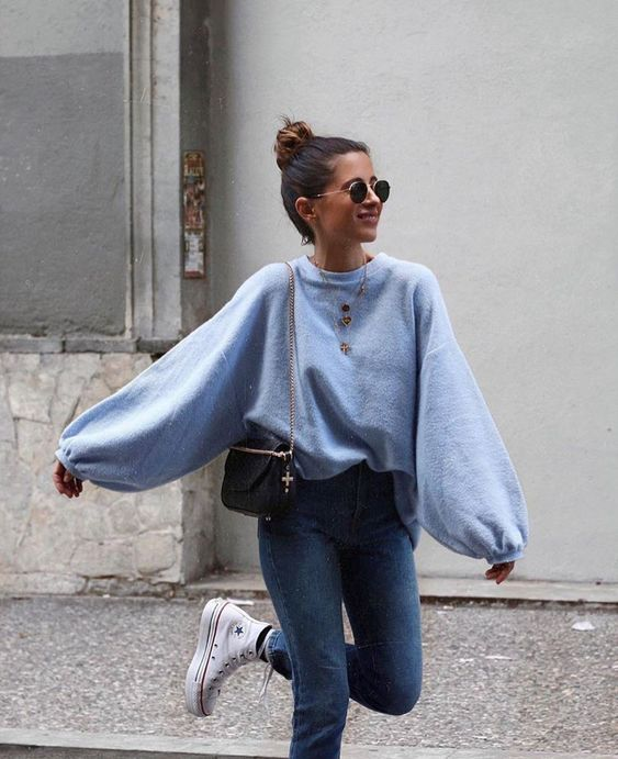 c67563162fd 15 Fuzzy Sweater Outfits You Need This Winter - Society19