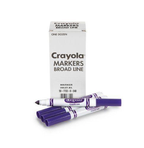 one-purple-crayola-marker