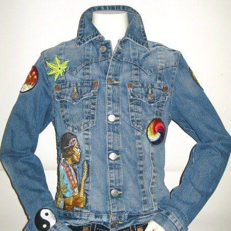 True Religion Jacket (Society Club Row Jean Jackets 100% Cotton
