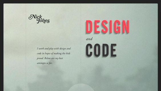 www.narrowdesign.com by Nick Jones