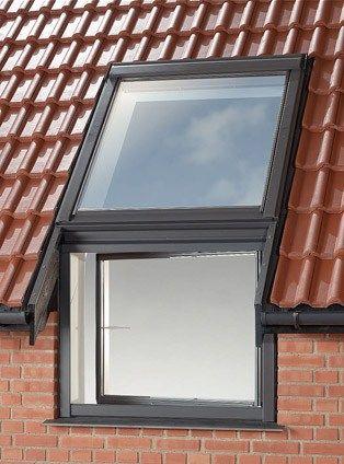 Fen tre de toit velux elemento verticale vfa 73 velux for Fenetre de toit pvc velux
