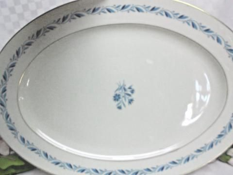 Lenox, China Dinnerware BlueRidge Pattern# P316 Large Oval serving pla – Rose Cottage Scents