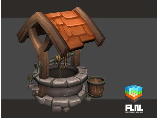 Cartoon Lowpoly Water Well Unity Asset Store Unity Games