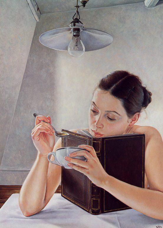 Reader — Francine Van Hove