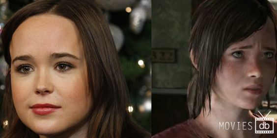 Actors Destined To Play Video Game Characters. The Last of Us:Ellen Page as Ellie.Full Story here:http://bit.ly/1keD5c4