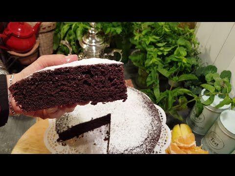 قاطو طورطة كيك شوكولا ساهل و ناجح و بنيين و كويس تاي اخضر للعشوية Gateau Au Chocolat Moelleux Youtube Cake Food Desserts