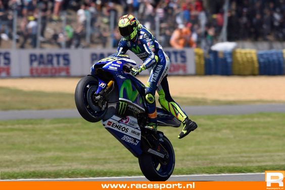 VR46 2nd at FrenchGP Le Mans