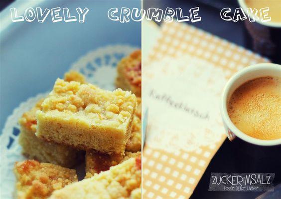 super saftiger Streuselkuchen ... awesome fresh crumble cake
