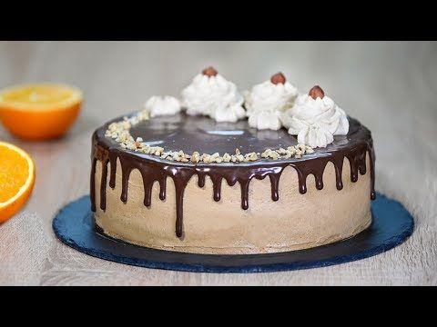 87 орехово кофейный торт Youtube торт десерты рецепты тортов