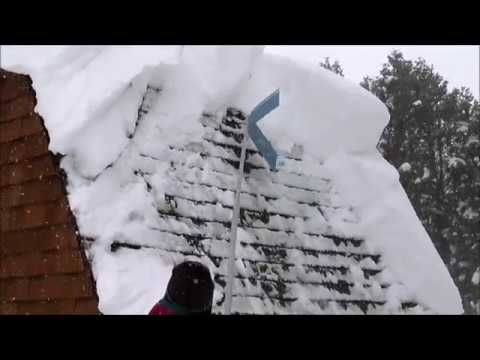 Vinkel Plat Easy Roof Snow Removal Tool Christmas Erie Pa 2017