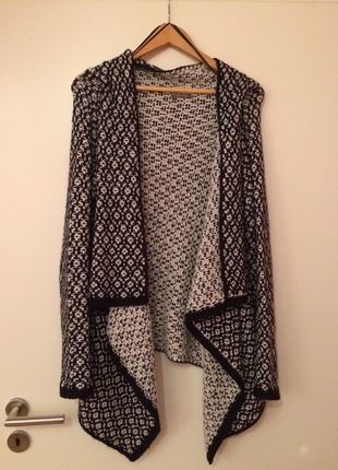 Kaufe meinen Artikel bei #Kleiderkreisel http://www.kleiderkreisel.de/damenmode/cardigans/120779554-cardigan-strickjacke-orsay-schwarz-weiss-grosse-s