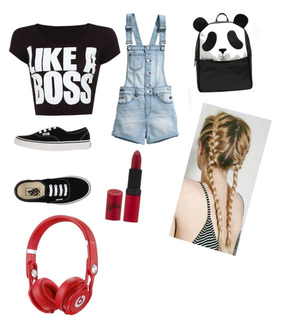 """""""Untitled #13"""" by inna-rizhkova ❤ liked on Polyvore featuring H&M, Vans, Rimmel and ASOS"""
