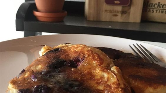 This is an excellent recipe for blueberry pancakes. A delicious, nutritious and flavorful breakfast. When blueberries are out of season, use thawed frozen blueberries.