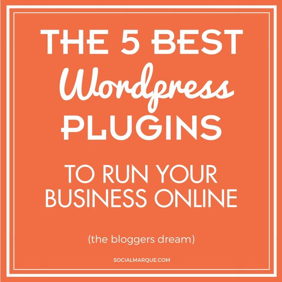 The 5 Best WordPress Plugins to Run Your Business Online