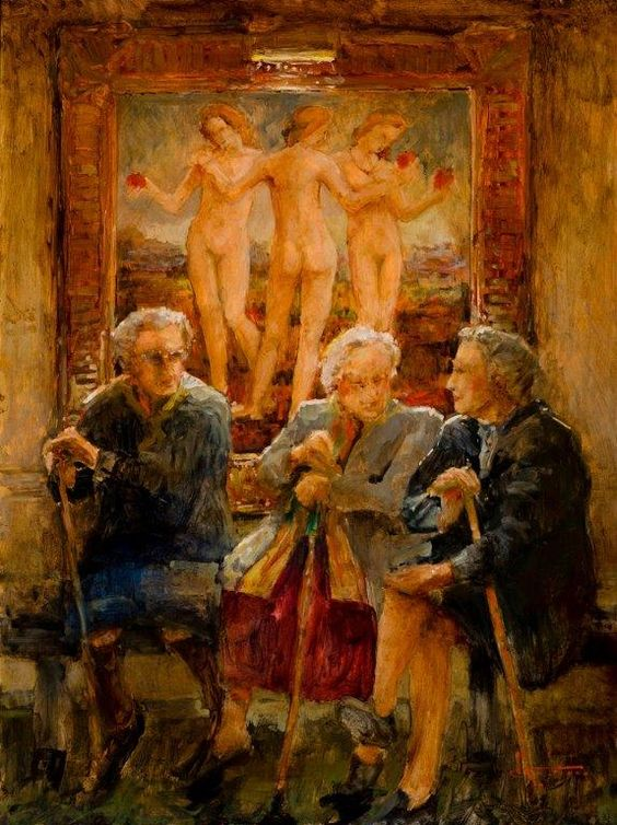 Stephen Shortridge (American, b.1951) - Friends From the Start