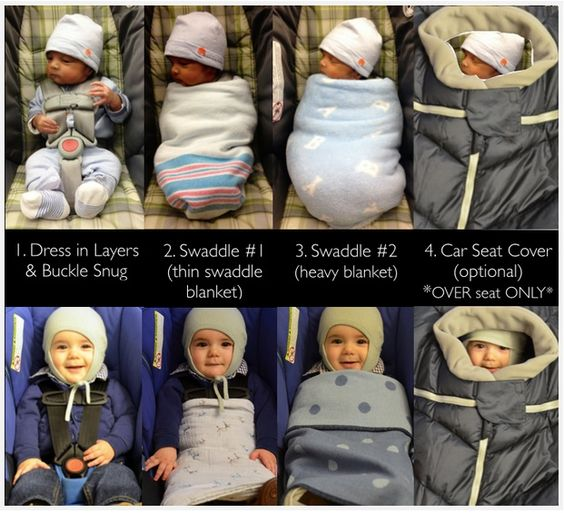 Cold Weather Car Seat Tips Via Healthpodbaby Heavier