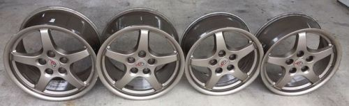 1997 2004 Chevrolet Corvette C5 Magnesium Wheels 17x8 5 Chevrolet Chevrolet Corvette Car Parts