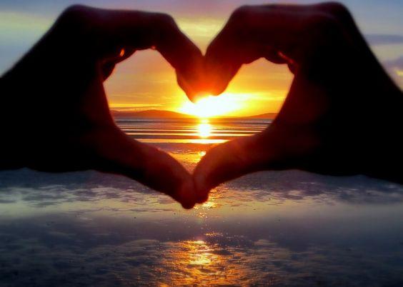 My Heart Left On Sunset Beach Tasmania Australia