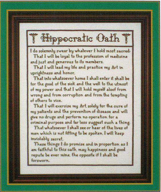 Hippocratic Oatah