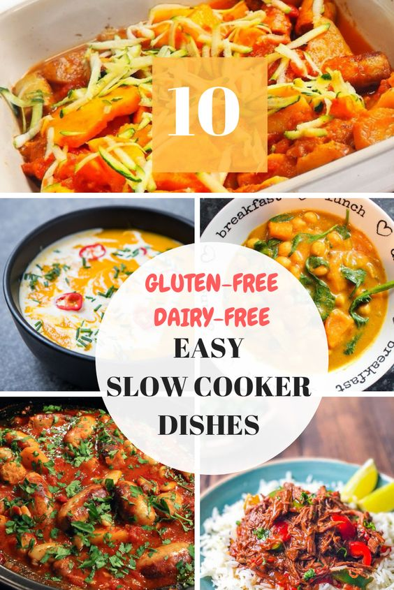 10 gluten free, dairy free slow cooker recipes you need to make!