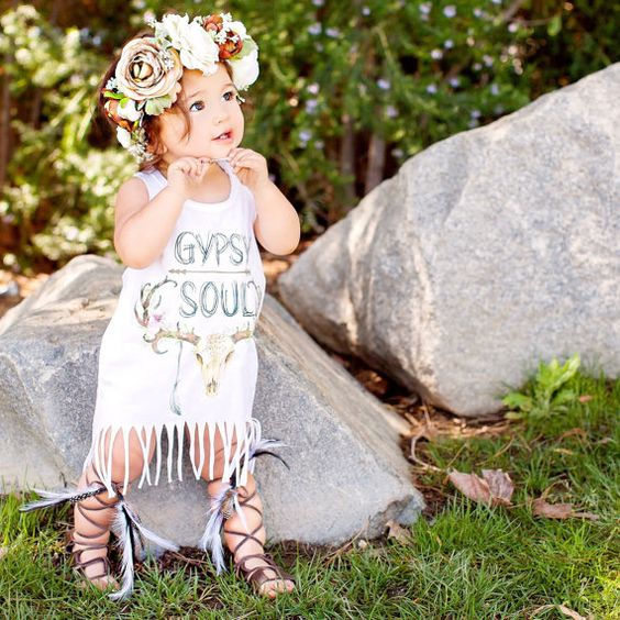 GYPSY SOUL Mommy and Me Flowy Racerback Tank and by ThePineTorch