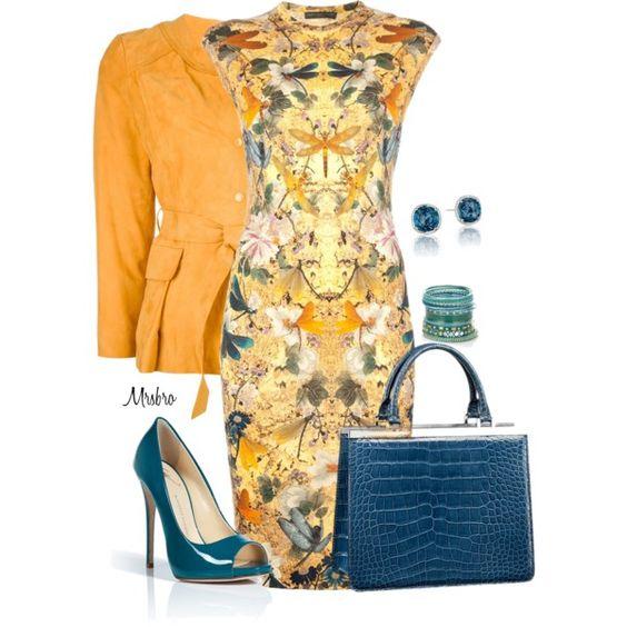 Louis Vuitton and Butterflies, yellow