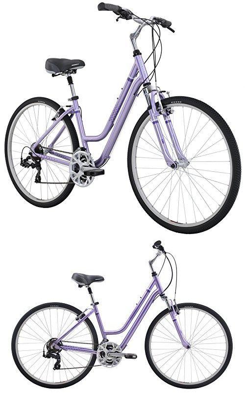 Diamondback Bicycles 2016 Women S Vital 2 Complete Hybrid Bike Light Purple 17 Frame Hybrid Bike Comfort Bike Bike