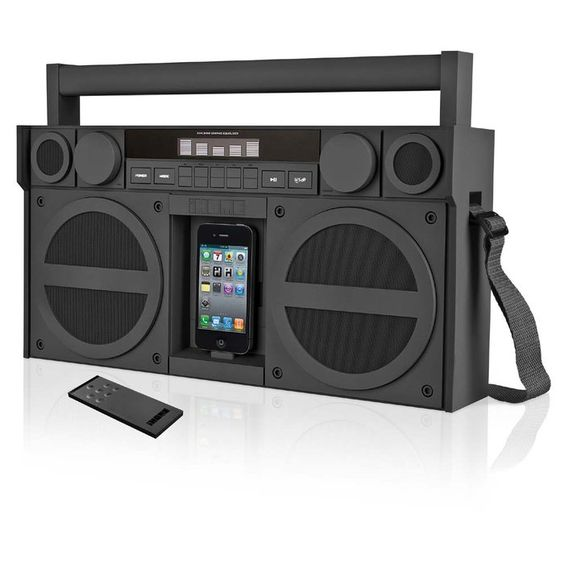 iHome Portable FM Stereo Boom Box for iPod/iPhone  $199