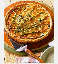 Liz Maclarnon's Cheese And Courgette Tart Recipe — Dishmaps
