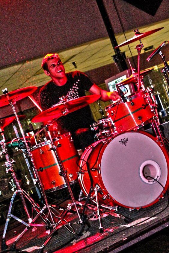 Joe Schaumann (Drums) - Warroad, MN - June 10, 2012: Drums Warroad, Warroad Mn, Mn June, Summertime Dropouts, Joe Schaumann, Schaumann Drums, Favorite Bands, 10,  2012, June 10