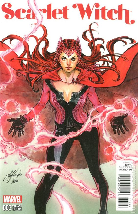Scarlet Witch #3 (2015 reboot)