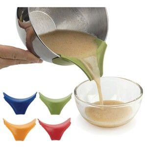 Silicone Slip-On Pour Spout - I SO need this! $4.99
