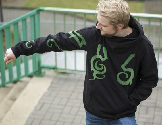 Check out this item in my Etsy shop https://www.etsy.com/listing/277676600/wolvenstyle-demon-hunter-hoodie